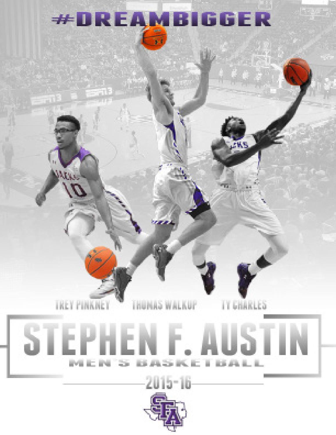 2a1f423a0 2015-16 SFA Men s Basketball Media Guide by SFA Athletics - issuu