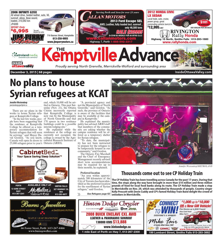 Kemptville by Metroland East Kemptville Advance issuu