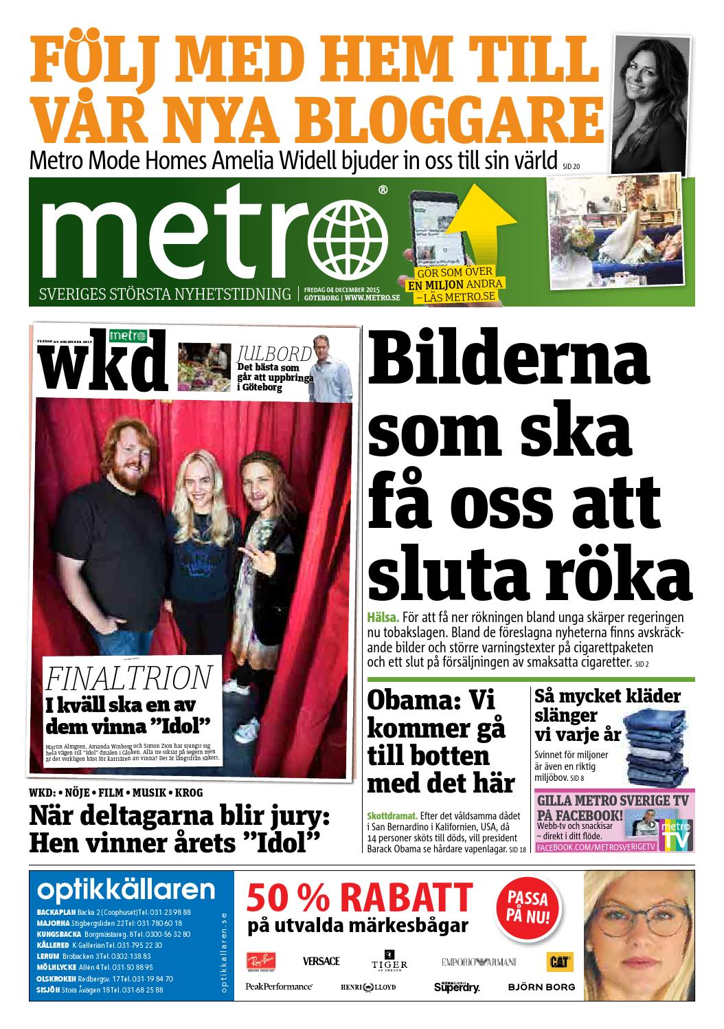low priced f8fa3 04d01 20151204 se goteborg by Metro Sweden - issuu