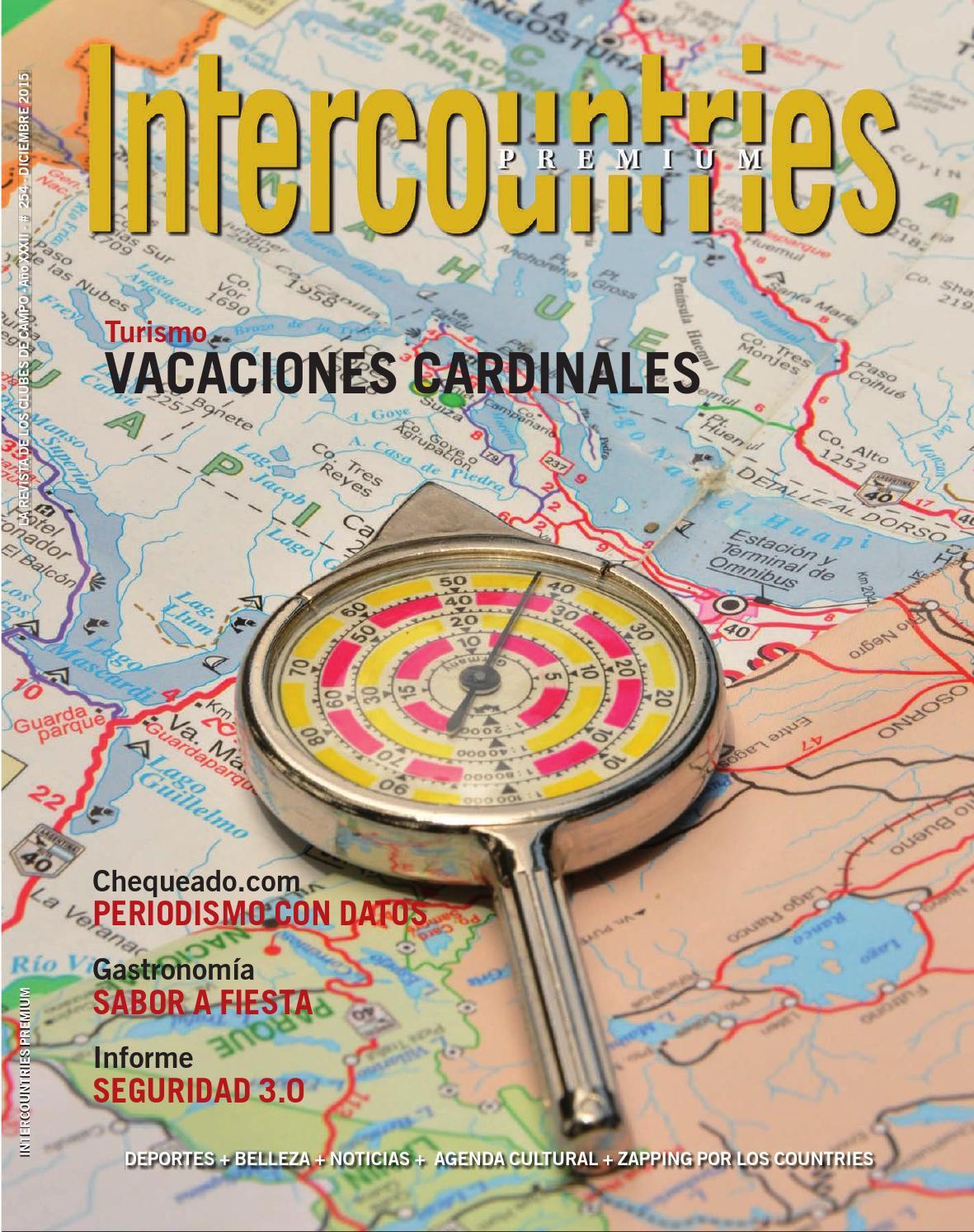 Intercountries Premium 254 Diciembre De 2015 By Sebas Garcia  # Muebles Naldo Lombardi