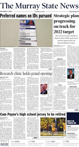 The Murray State News By The Murray State News Issuu