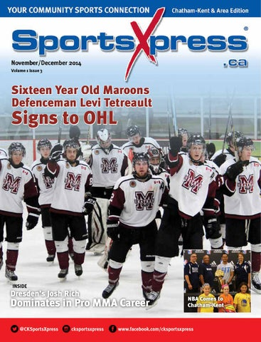 520a27ec9 SportsXpress Chatham Kent Nov Dec 2014 by SportsXpress - issuu