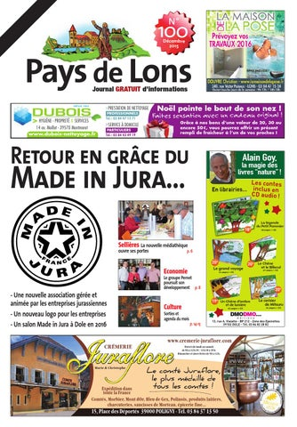 Pays de Lons 100 by PAOH - issuu 47eda9e07980