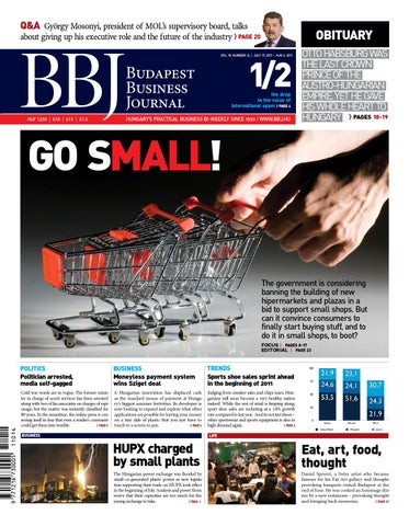 0c93149d42 Budapest Business Journal 19/14 by Business Publishing Services Kft ...