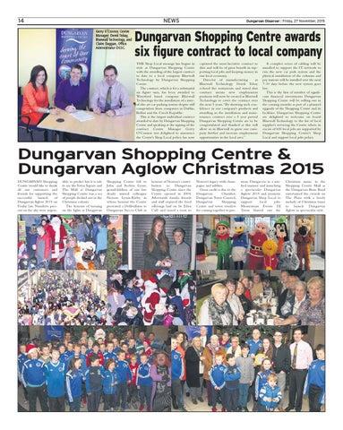 53863b5e72e64 Dungarvan observer 27 11 2015 edition by Dungarvan Observer - issuu