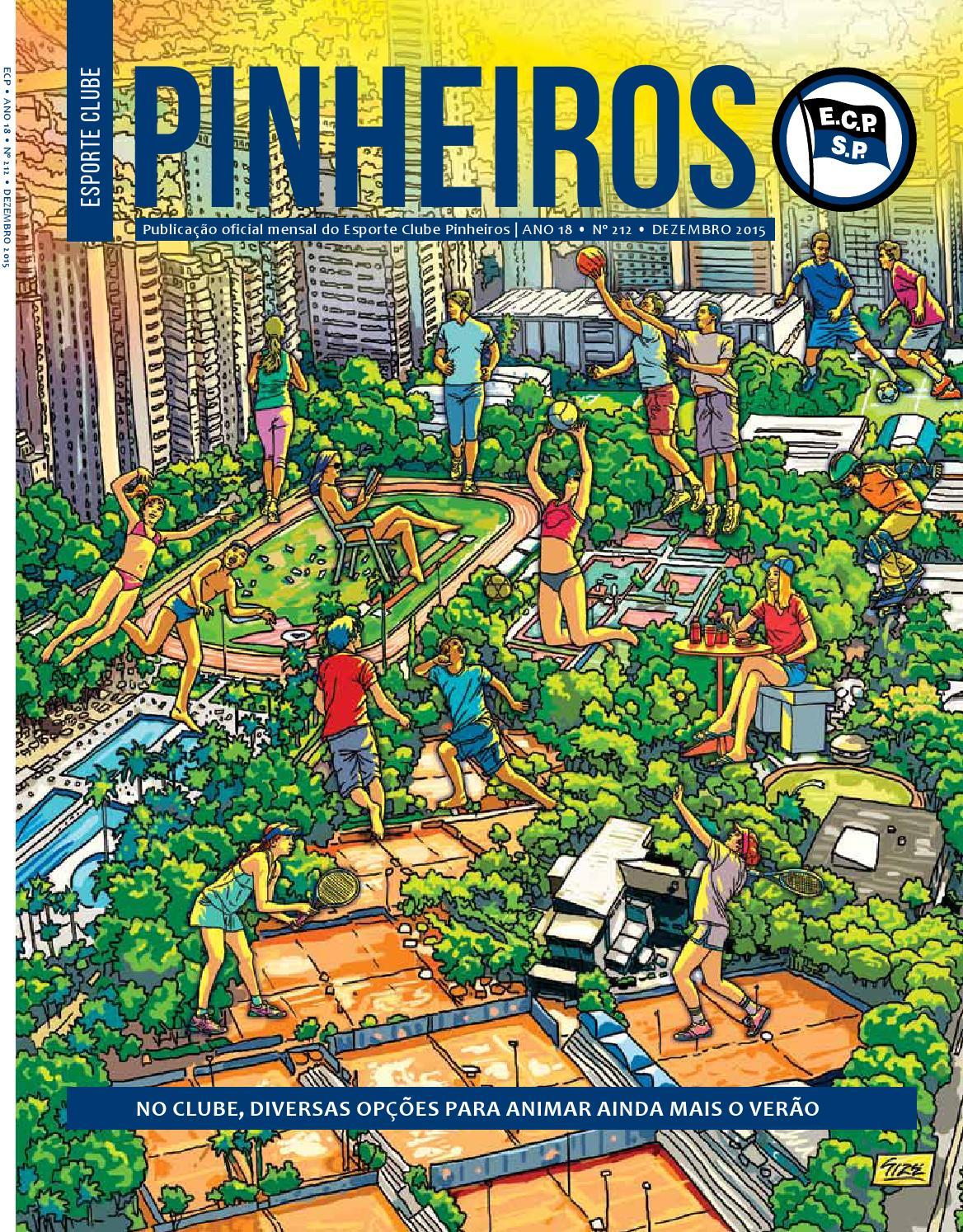 Revista n° 212 - Dezembro 2015 by Esporte Clube Pinheiros - issuu 7d0a3e9a4fda0
