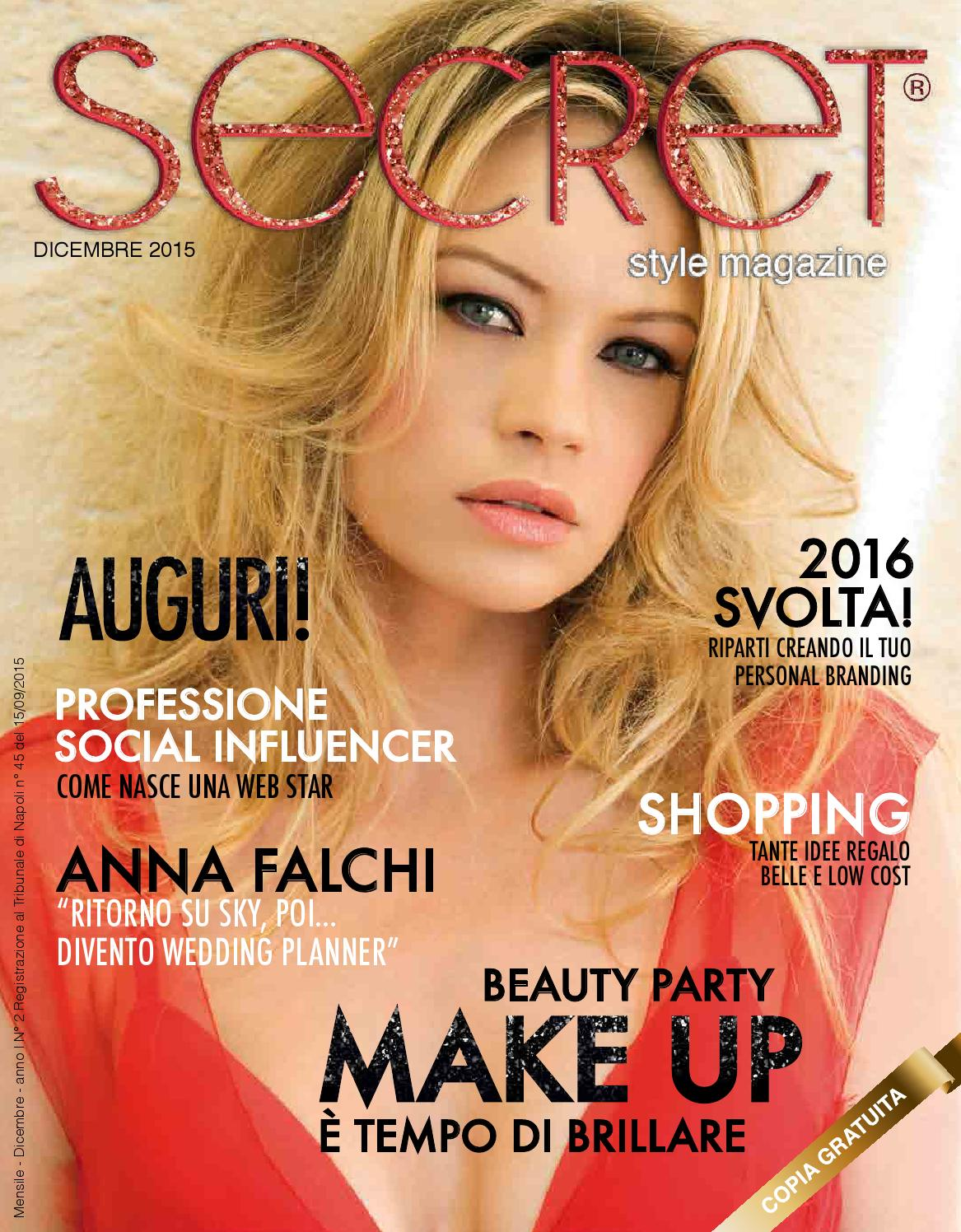 Secret Style magazine- Dicembre 2015 by Secret Style magazine - issuu 26ffa114da6