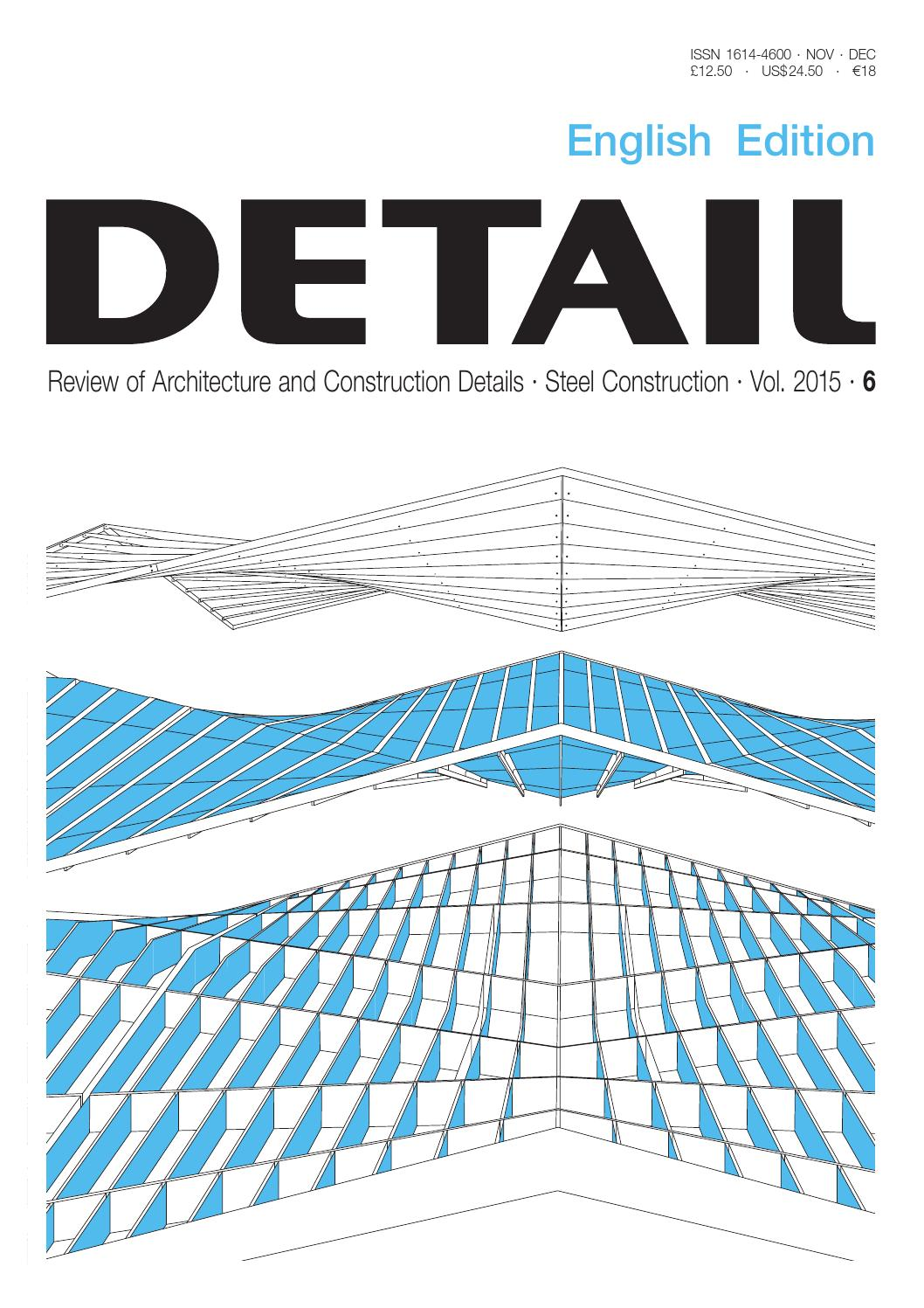 DETAIL English 6/2015 - Steel by DETAIL - issuu