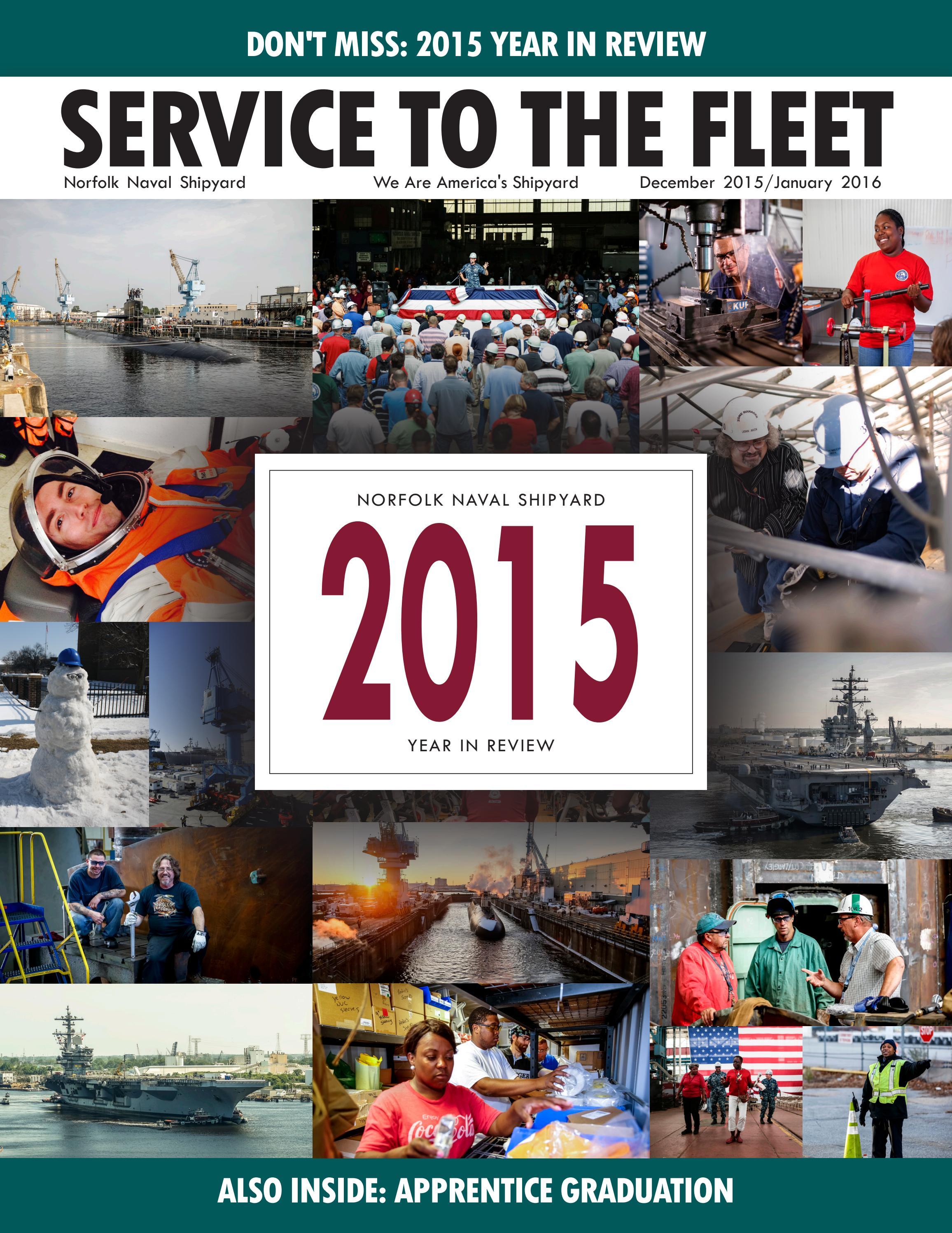 Service to the Fleet - Dec 2015/Jan 2016 by Norfolk Naval