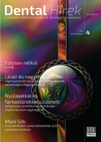 4d701de80c Today szombat 2015 by Dental Press Hungary - issuu
