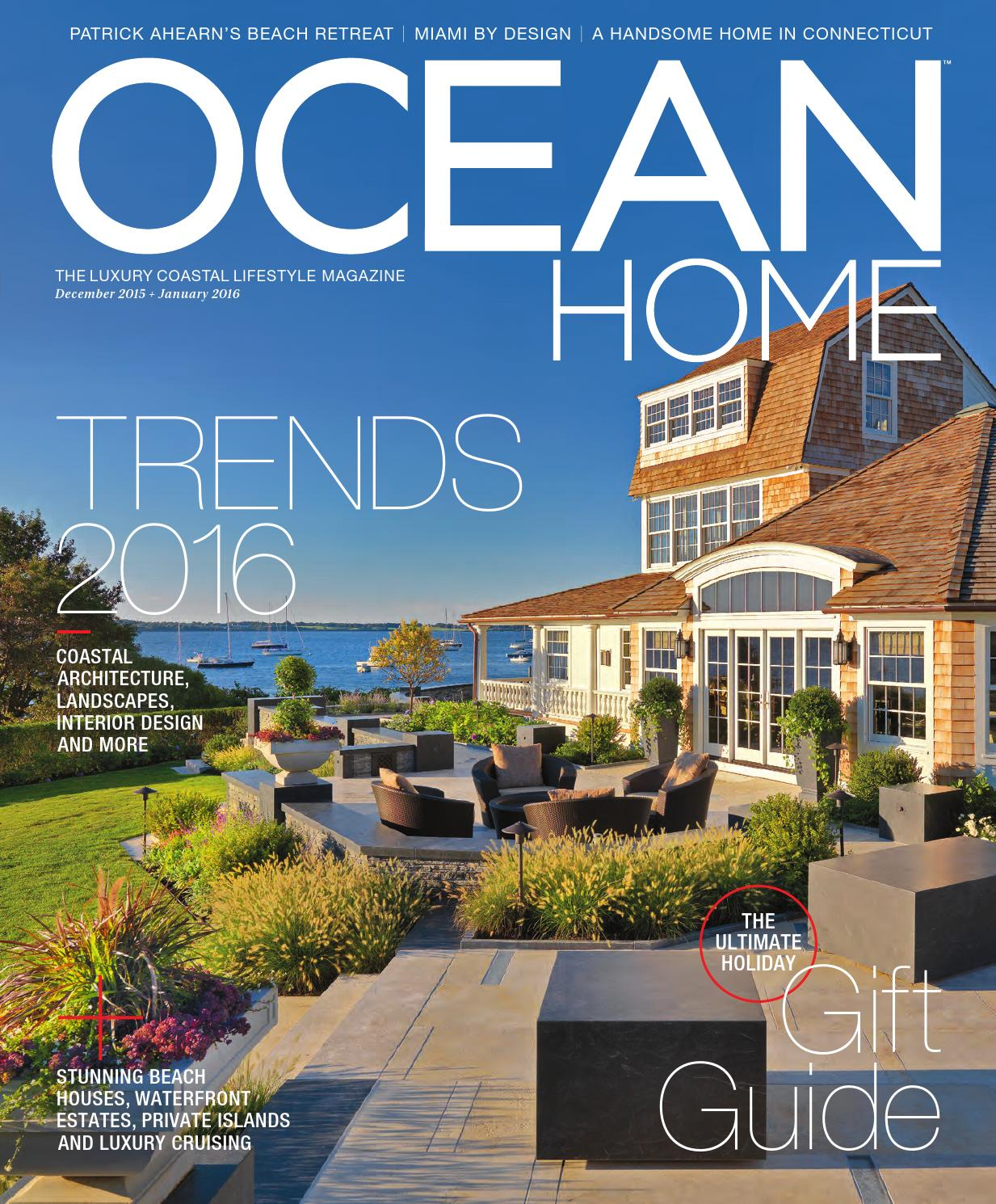 Ocean Home December 2015 January 2016 By Magazine