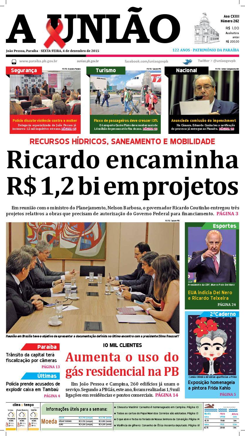 Jornal A União - 04 12 2015 by Jornal A União - issuu 5c6e226f2c94c