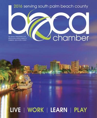a6fcc8e76b0b Boca Chamber Annual 2015-2016 by JES Media - issuu