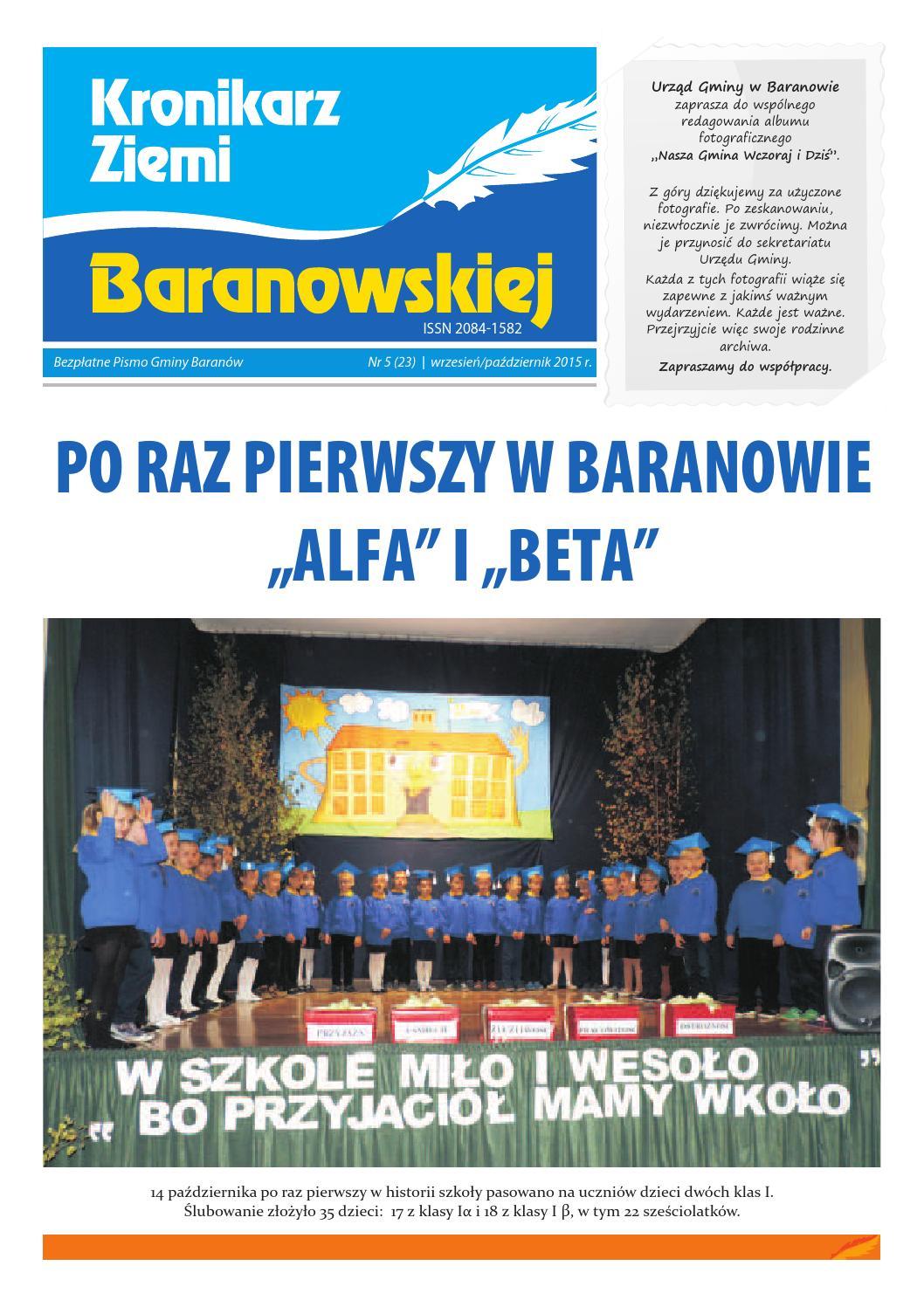 Kronikarz Ziemi Baranowskiej Nr 23 By Gmina Baranów Issuu