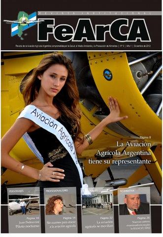 Revista FEARCA N° 3 - 2012