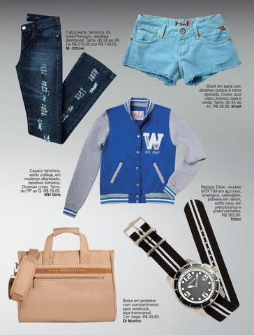 ee26cc66d Calça jeans, feminina, da linha Premium, detalhes destroyed. Tams. do 34 ao  44. De R$ 279,00 por R$ 139,00. M. Officer