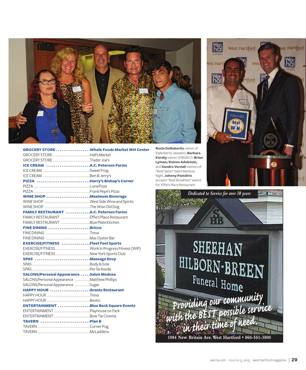 West Hartford Magazine Holiday 2015 by WHMedia, Inc. - issuu