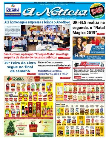 Edição de 5 e 6 de dezembro de 2015 by Jornal A Notícia - issuu e354bc5a99