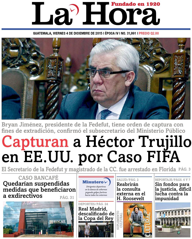 La Hora 04-12-2015 by La Hora - Issuu