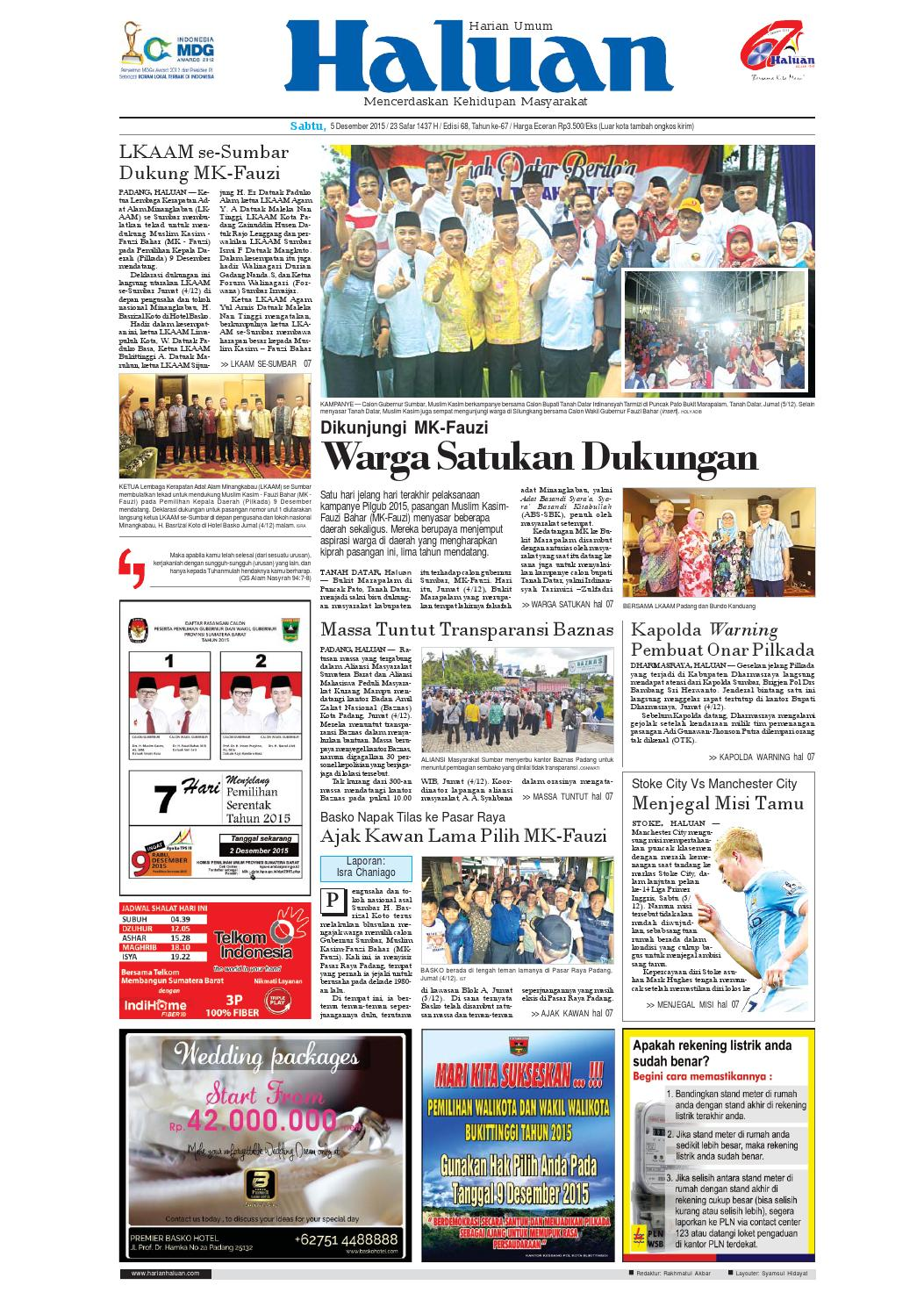 Haluan 05 Desember 2015 By Harian Issuu Bri Produk Ukm Bumn Kain Doby Motif Bunga