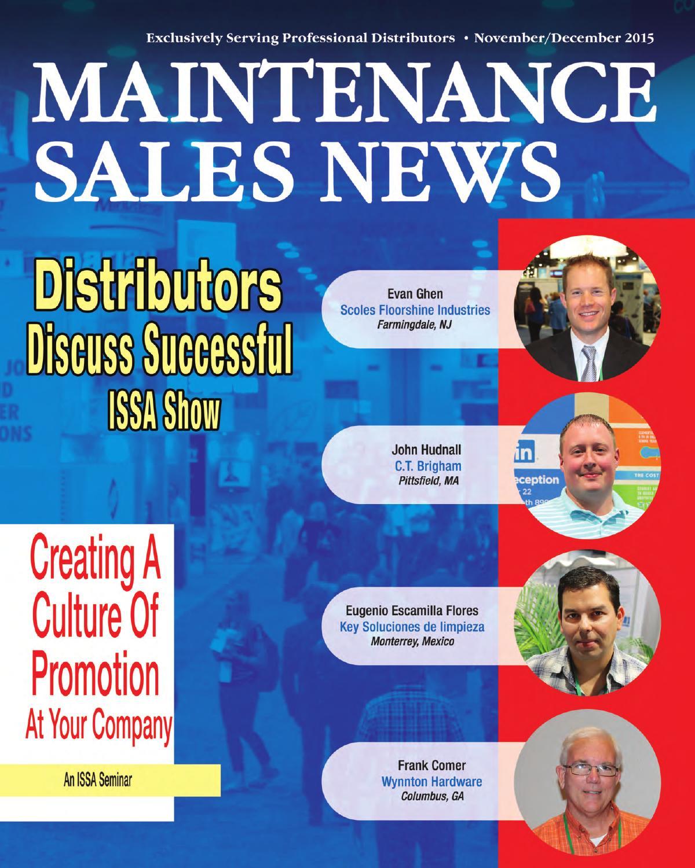 Nov/Dec 2015 Maintenance Sales News by Maintenance Sales News - issuu