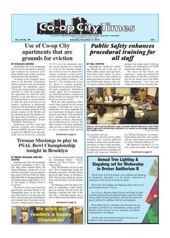 co op city times 12 05 15 by co op city times issuu
