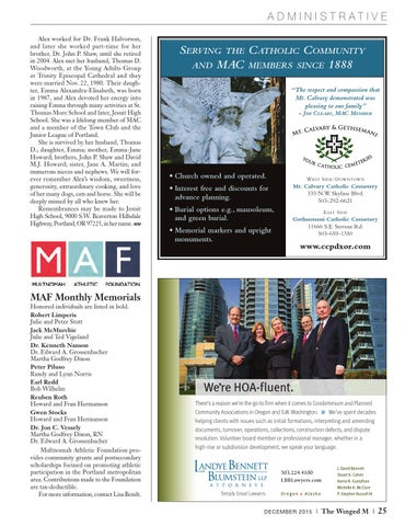 The Winged M December 2015 by Multnomah Athletic Club - issuu