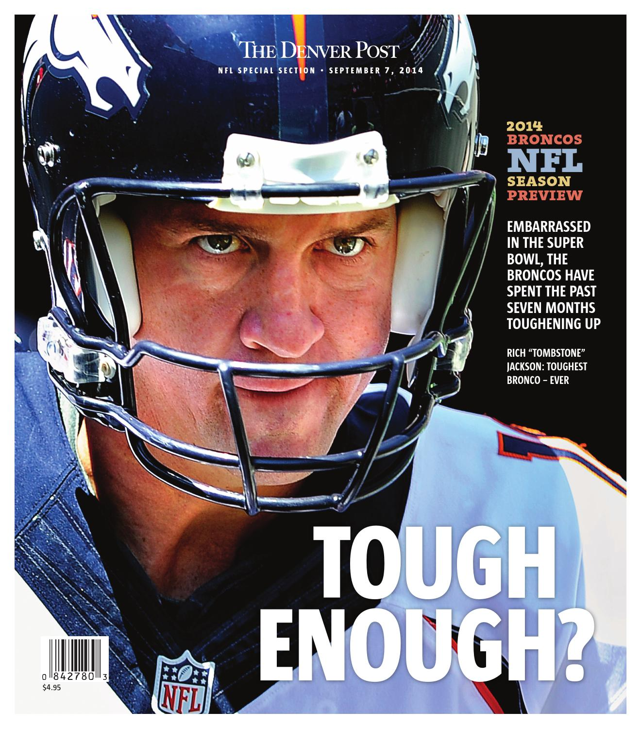 The Denver Post  2014 Broncos NFL season preview by Peter Dettmann - issuu 7b99284b1