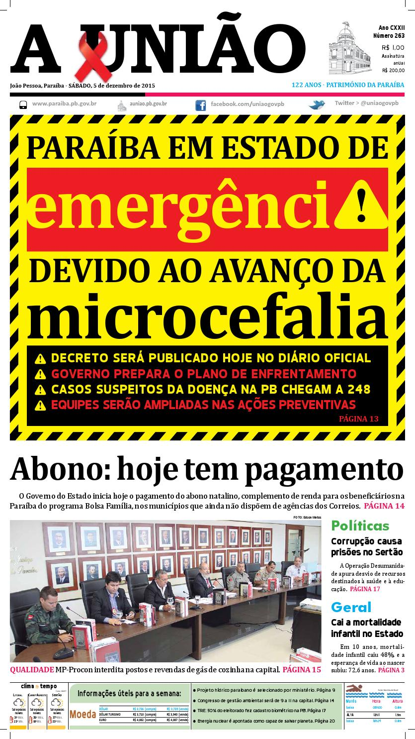 Jornal A União - 05 12 2015 by Jornal A União - issuu bd63bac8b7d10