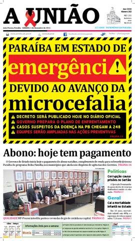 3b79b7fea6 Jornal A União - 05 12 2015 by Jornal A União - issuu