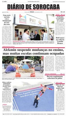 Edição de 5 de dezembro de 2015 by DIÁRIO DE SOROCABA - issuu e4361afa662f1