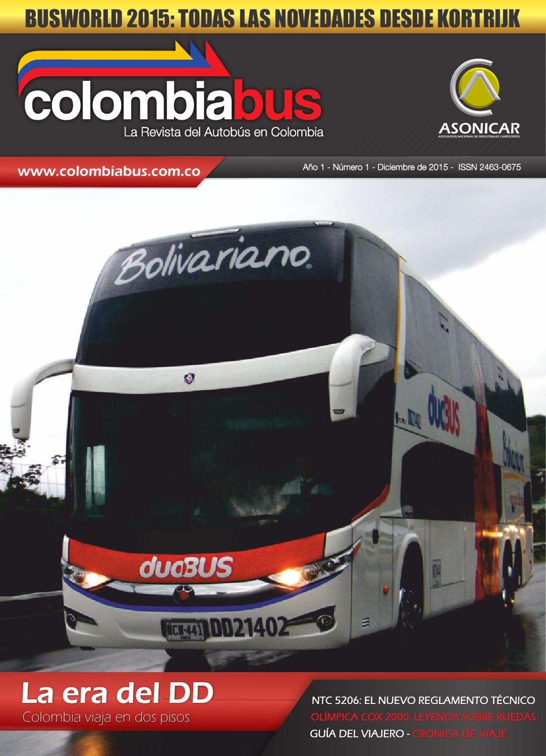 Revista Colombiabus diciembre 2015 - Ed. 1 by Colombiabus - issuu