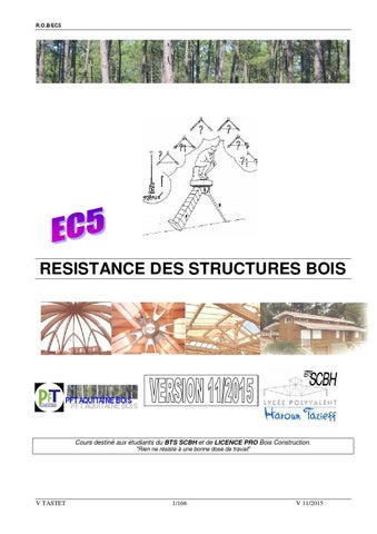 cours r sistance des structures en bois ec5 by vt issuu. Black Bedroom Furniture Sets. Home Design Ideas
