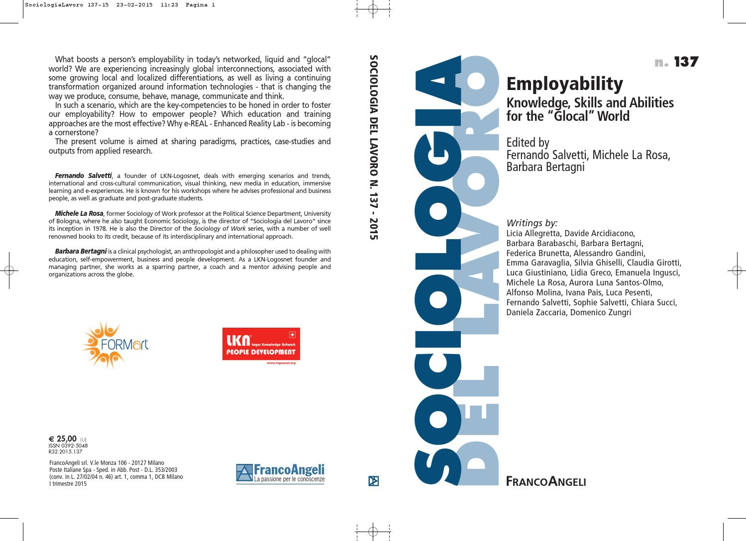 Selected Writings From Employability Knowledge Skills And Circuit Symbols Class Ideas 8th Grade Mindmap Galaxy Abilities For The Glocal World By Logosnetorg Issuu