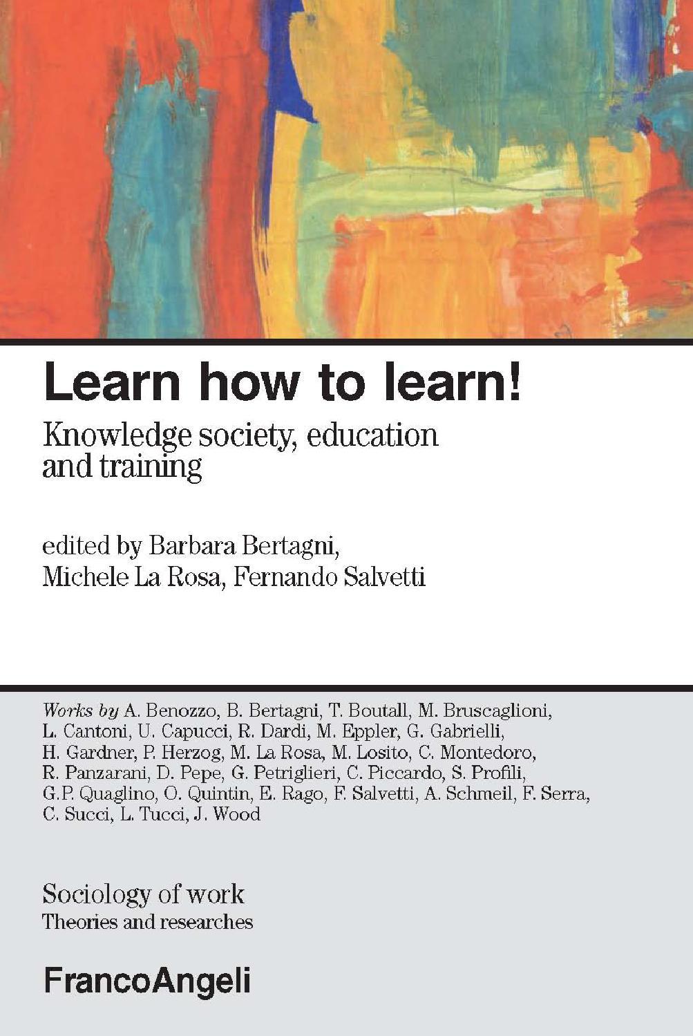 Studio Parisi E Associati Milano learn how to learn! knowledge society, education and