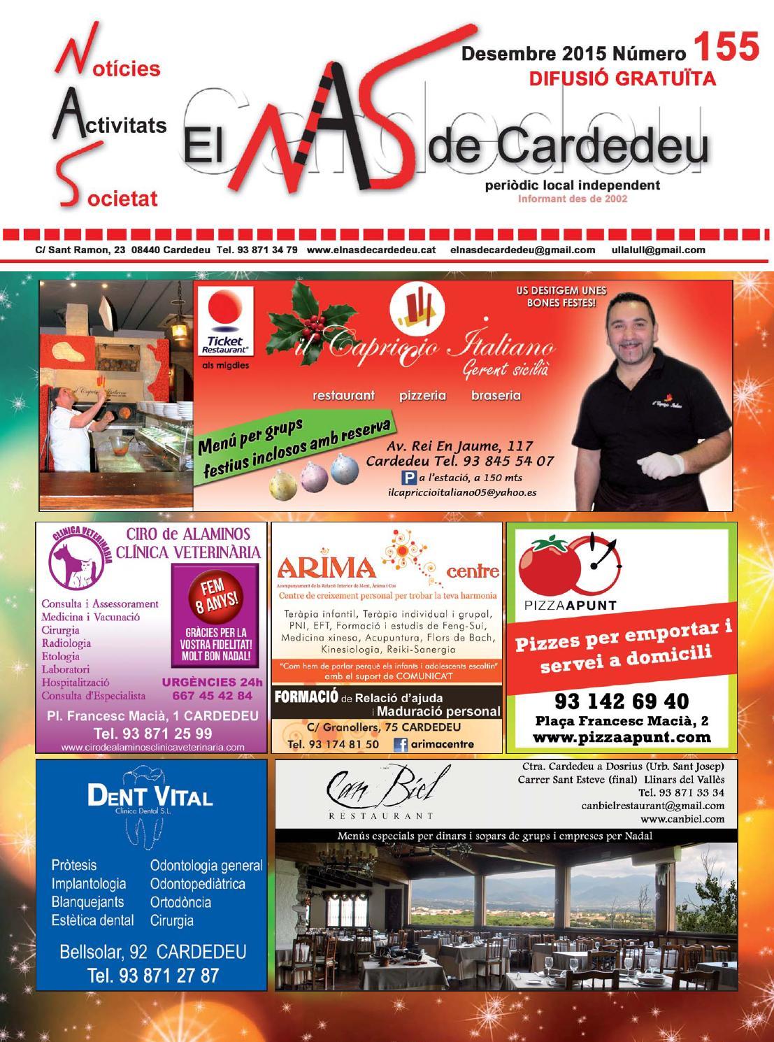 0f4eb62b98 El NAS de Cardedeu - Desembre 2015 by El NAS de Cardedeu - issuu