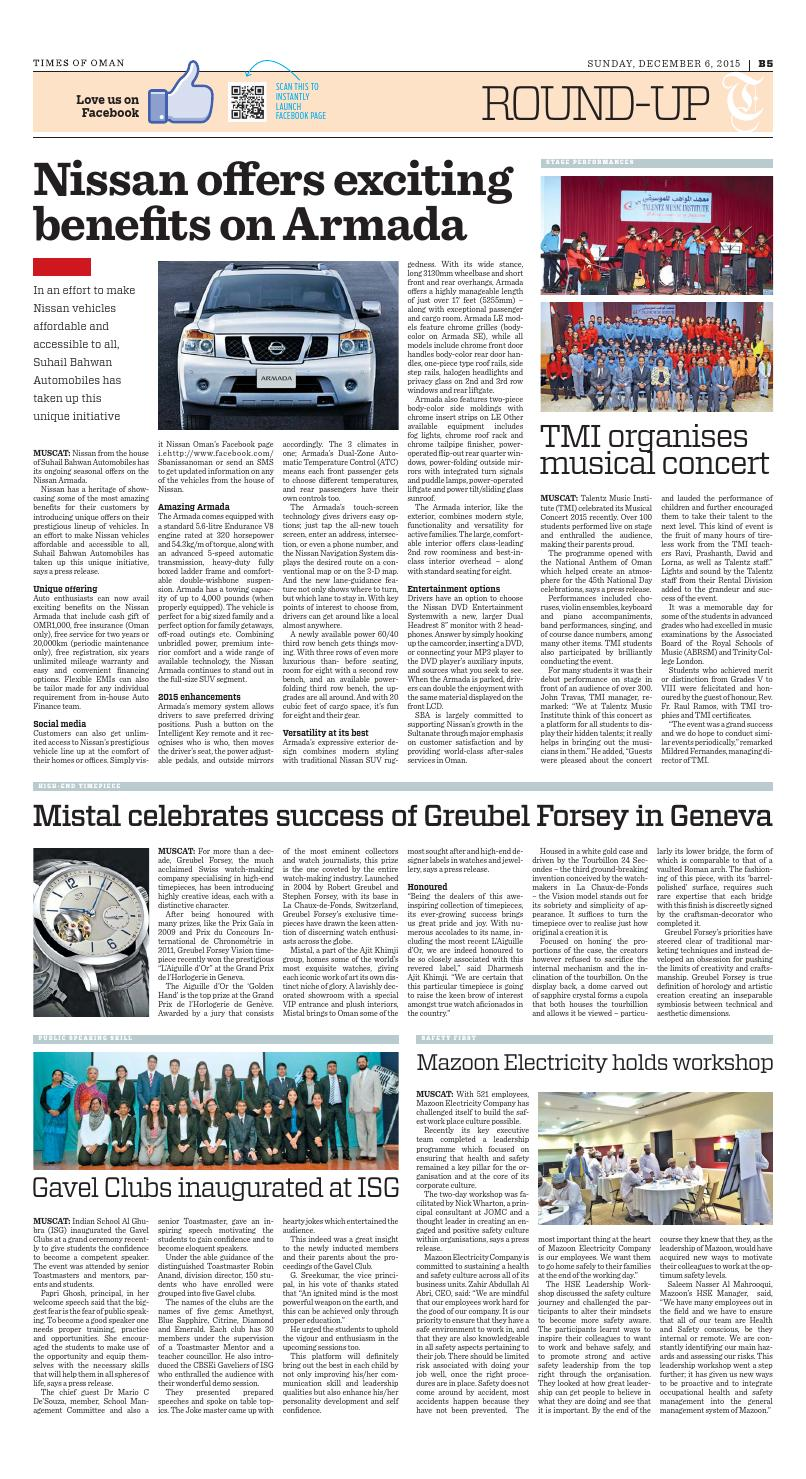 Times of Oman - December 6, 2015 by Muscat Media Group - issuu