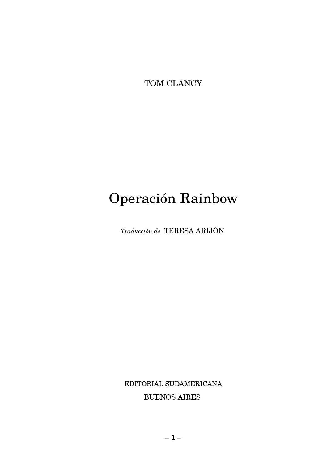 Clancy t 11 operacion rainbow  pages 1 486  by elvasco - issuu abdc1d320bb0