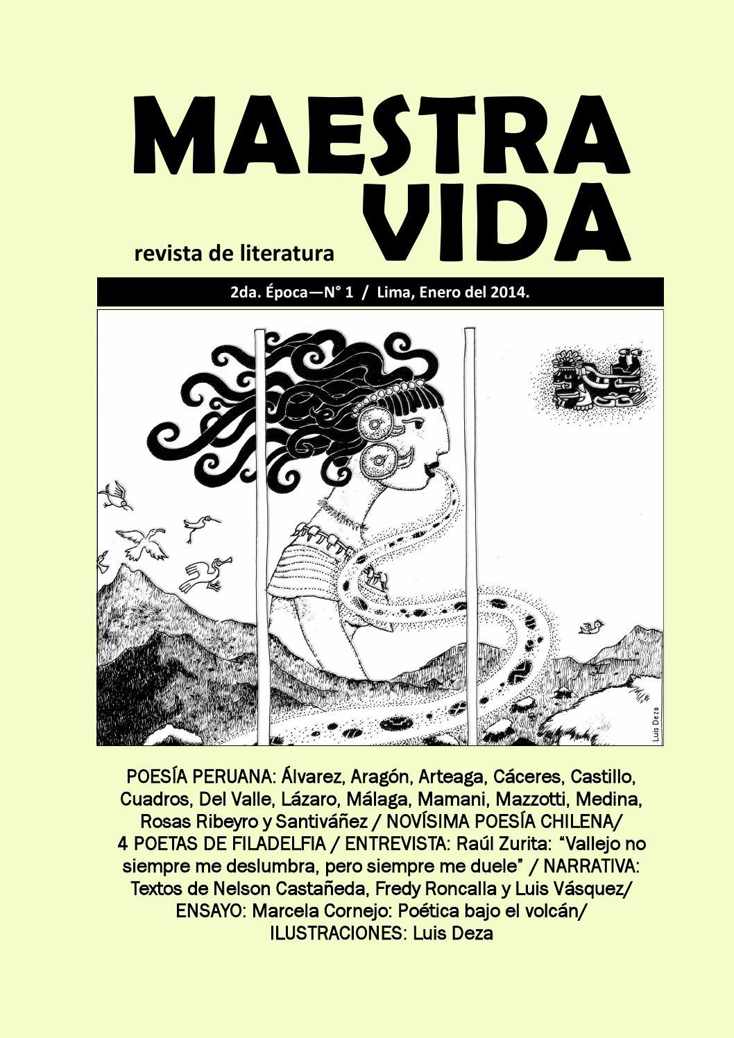 Maestra Vida Revista De Literatura No 1 Ii época By