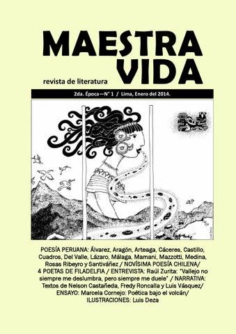 MAESTRA VIDA revista de literatura No. 1 / II Época by Wilfredo ...