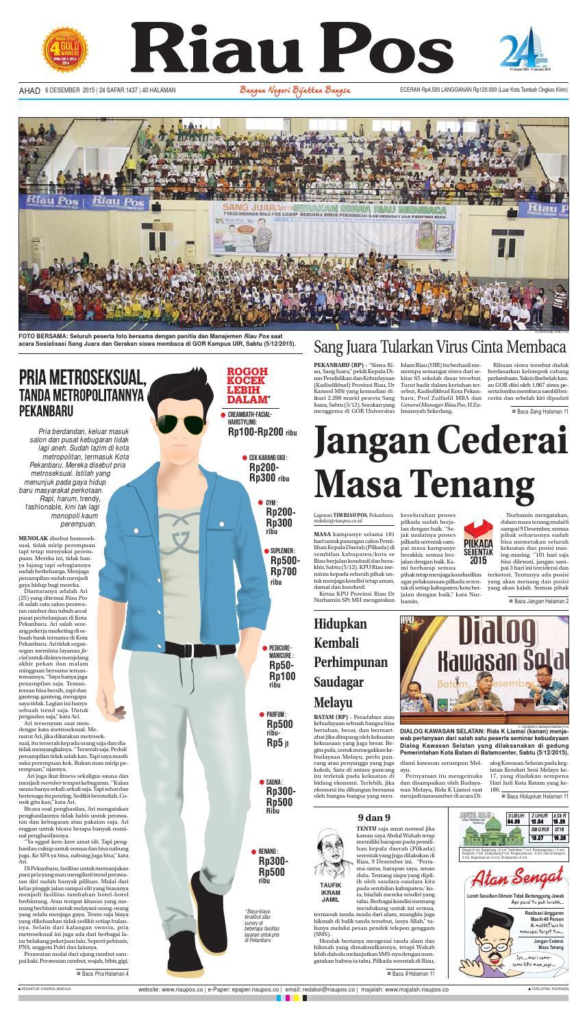 Riau Pos by Riau Pos - issuu