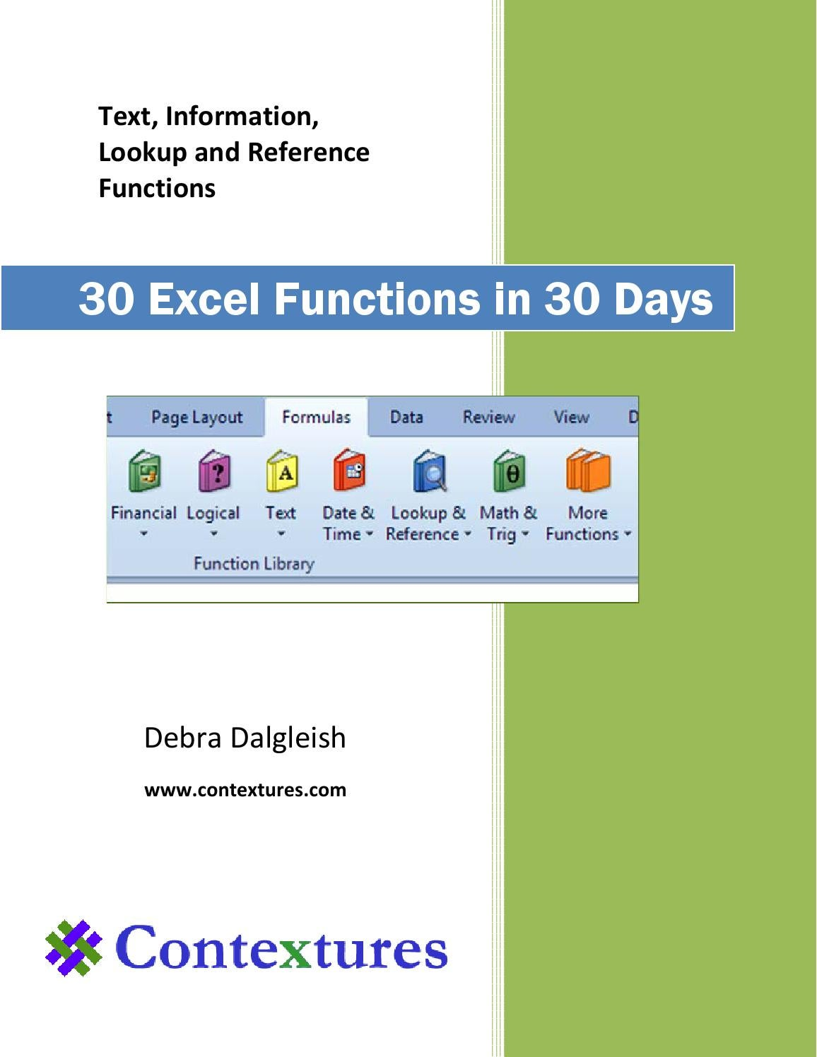 20 Excel Functions in 20 days by Mbuyisa McusiMBA Candidate   issuu