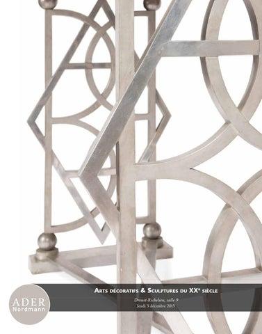 fd12ce82c5b Art décoratifs et Sculptures du XXe siècle - Ader-Nordmann Eyraud ...