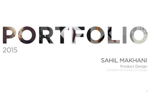 Product design portfolio by sahil makhani issuu page 1 altavistaventures Gallery
