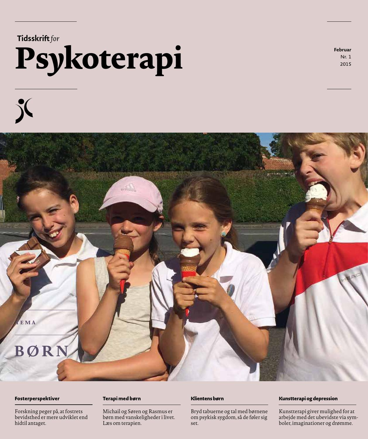 9dd63bb4 Tidsskrift for psykoterapi 2015 1 by Susanne van Deurs - issuu