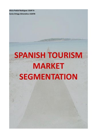 tourism marketing segmentation