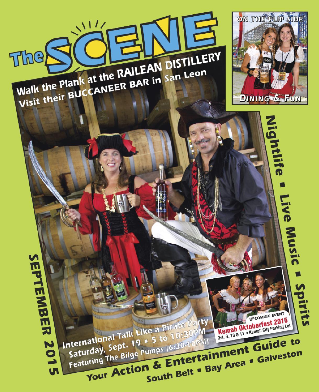 The SCENE Magazine - September 2015 - Back to Front