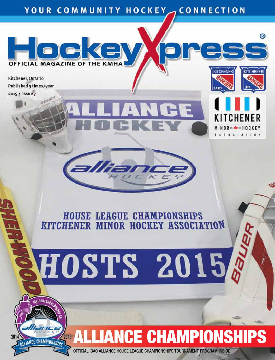 KW HockeyXpress Issue 7 by SportsXpress - issuu