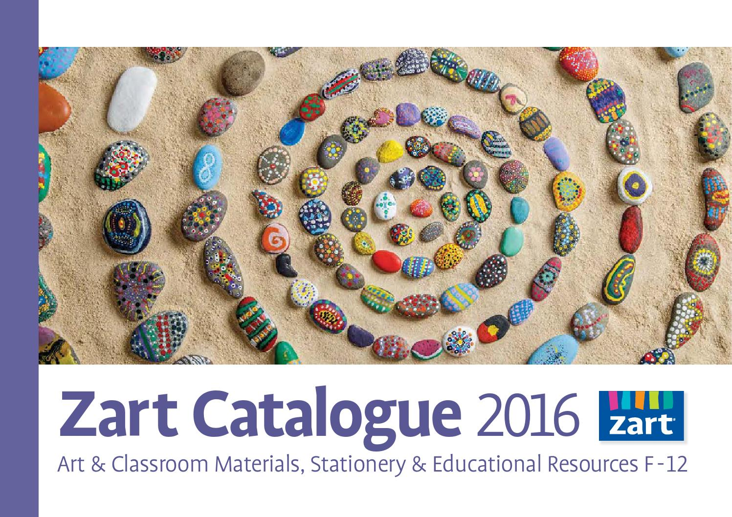 a32693c19aa85 Zart School Catalogue 2016 by Zart : Art, craft and education ...