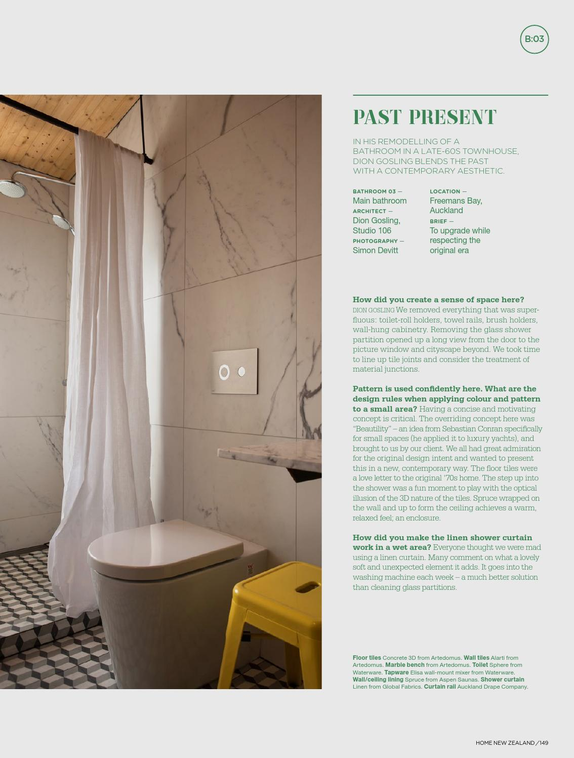 HOME NZ OctoberNovember By HOME NZ Issuu - Bathroom partitions bay area